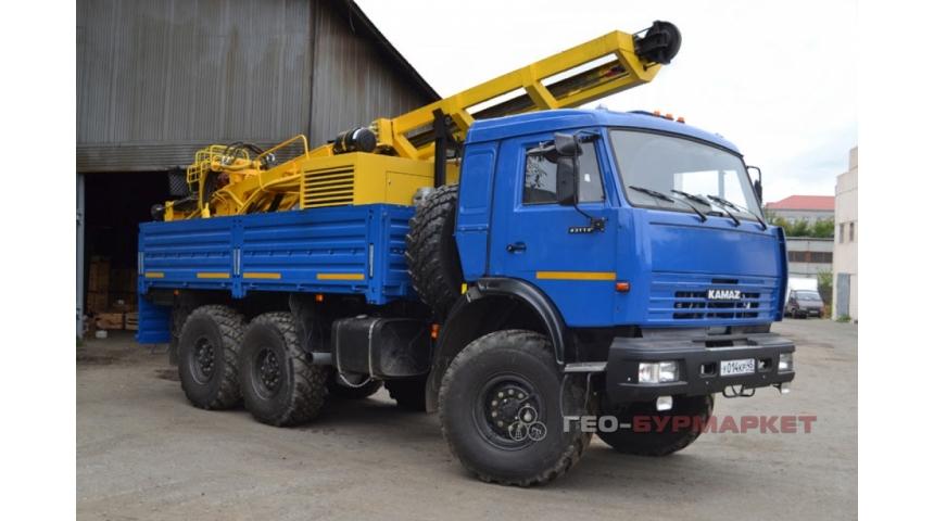 Установка буровая гидромеханизированная УБГМ-1Д на базе автомобиля КАМАЗ-43114