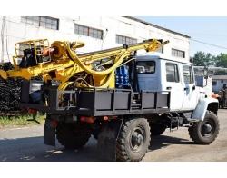 Установка буровая гидромеханизированная УБГМ -1Л на базе ГАЗ-33081 «Егерь»